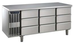 Electrolux 9 x 1/3 Drawer Refrigerated Counter