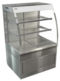 Cossiga CD5OR9 Open Front Refrigerated Food Display Cabinet