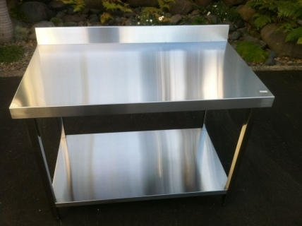 Prep Bench E18 1200 x 700mm with upstand