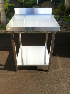Prep Bench E18 700 x 700mm with upstand