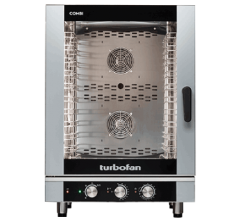 Turbofan EC40M10 10 Tray Manual / Electric Combi Oven