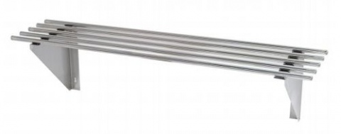 Stainless Steel Pipe Wallshelf