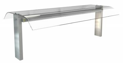 Cossiga Linear Glass Options (GLDC Double Curved Glass)