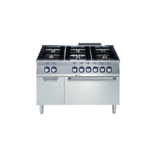 Electrolux 700XP 6 Burner Gas Range on Static Electric Oven