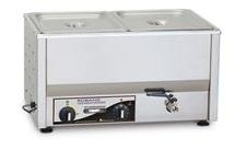 Roband BM2 2 x 1/2GN Pan Capacity Counter Top Bain Marie