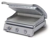 Roband 8 Slice Smooth Plates with non stick coating Grill Station