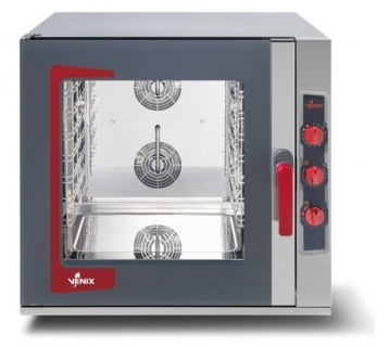 Venix LO6MVUS Lido Electric Manual Bakery Combi Steam Oven