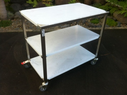 Stainless Steel Service Trolleys