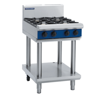 Blue Seal G514D-LS 4 Burner Gas CookTop - Leg Stand