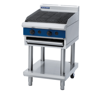 Blue Seal G594-LS Gas Chargrill - Leg stand