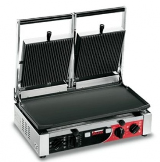 Sirman Contact Grill Double Ribbed Top & Smooth Base