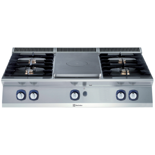 Electrolux 700XP 2 Burners + Solid Top + 2 Burners CookTop