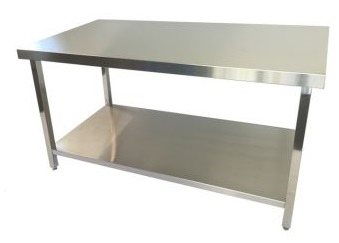 Stainless Steel Prep Benches