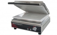 Woodson W.CT6R Ribbed Contact Grill 4-6 slice capacity